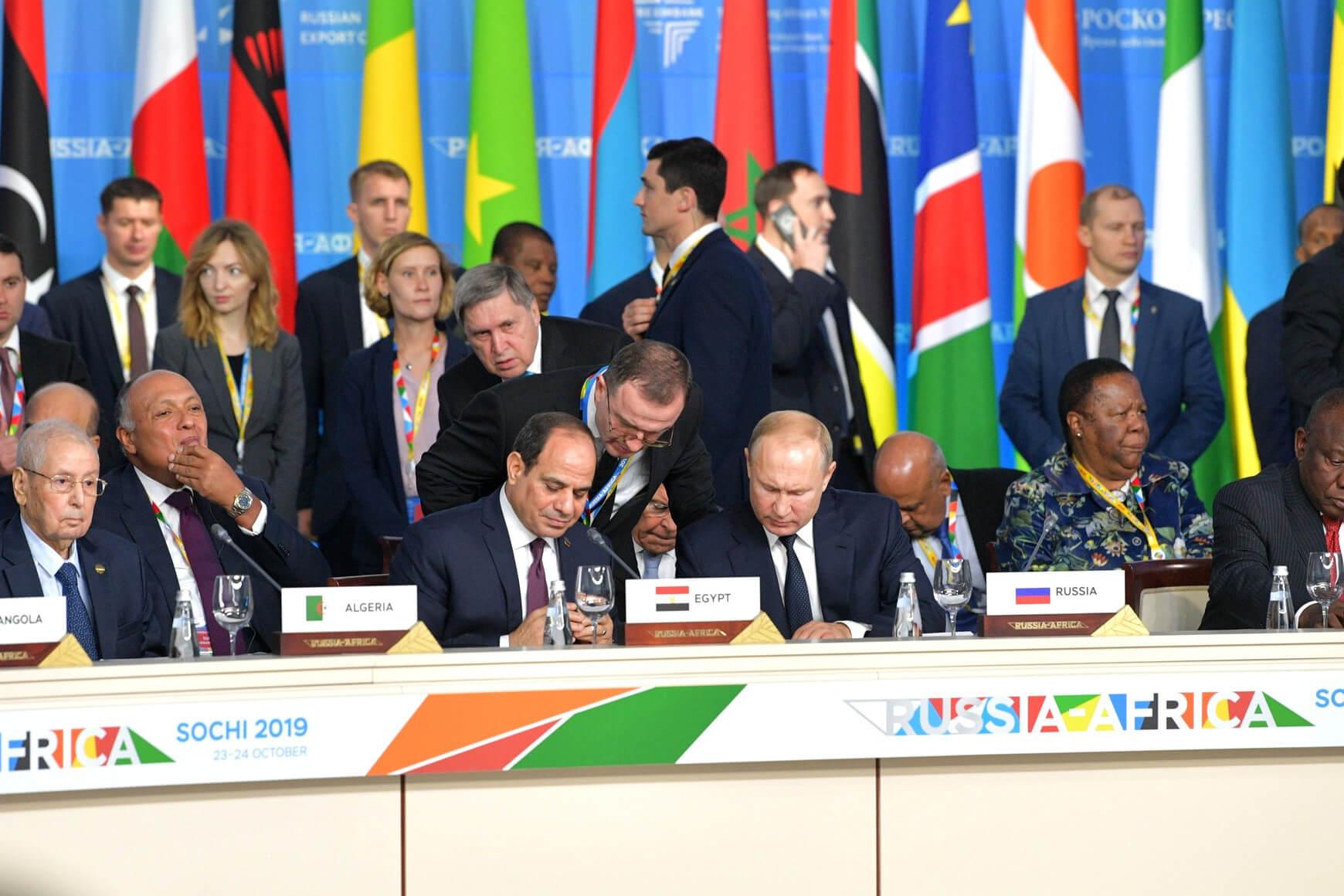 Russia - Africa Summit 2019