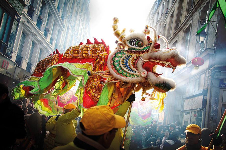 Año nuevo chino - Saif.world